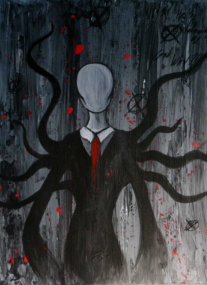 Slenderman by Akiraauger