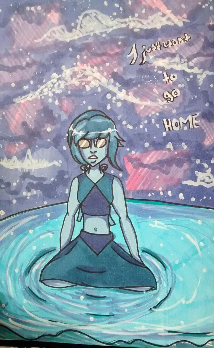 Ocean Gem: I just... want to go home by Peppermint-Pocky