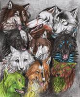 Wolf X-Mas 2012 CLOSED by SaidyWolf