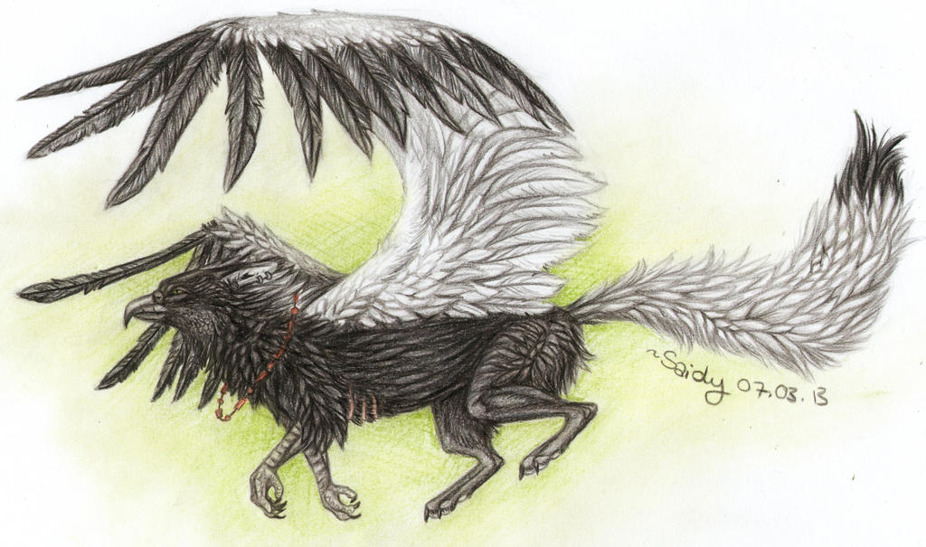 Nero - the charming Gryphon by SaidyWolf