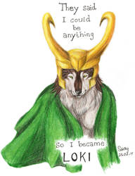 ...so I became LOKI by SaidyWolf