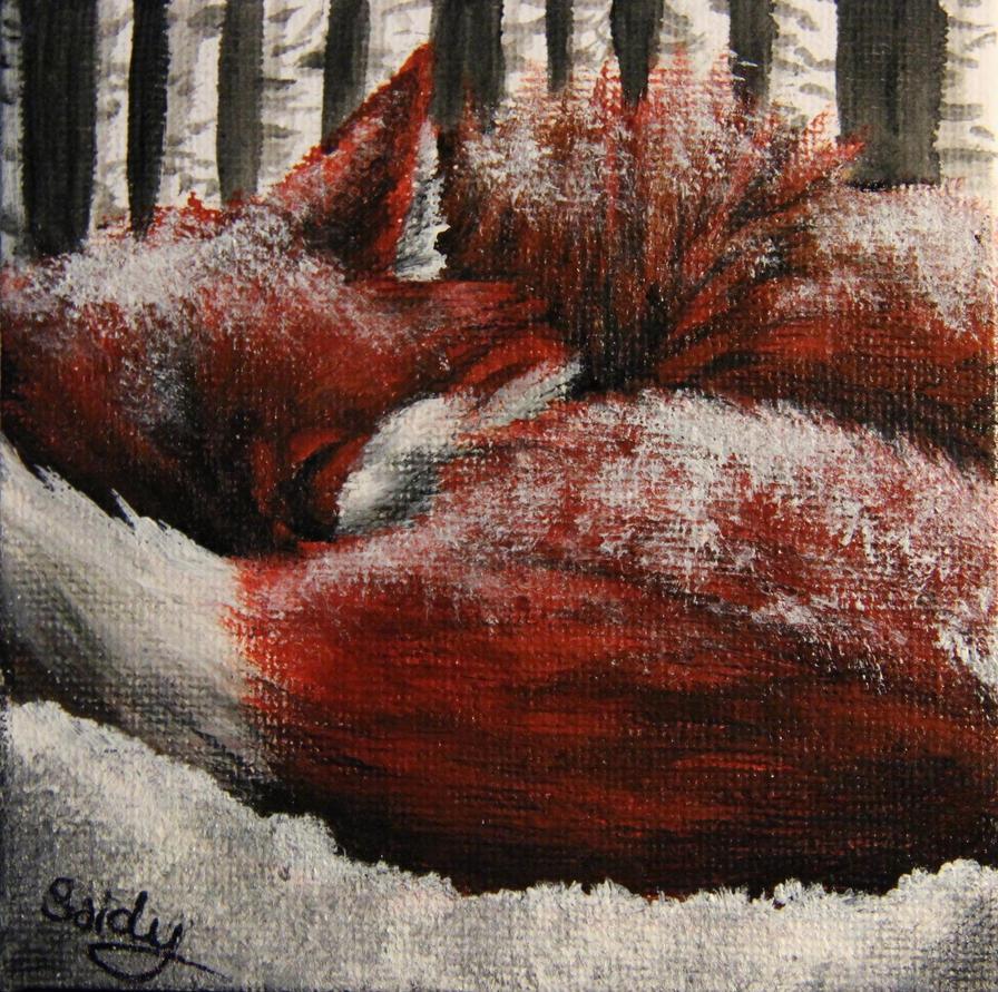 Hard winter by SaidyWolf