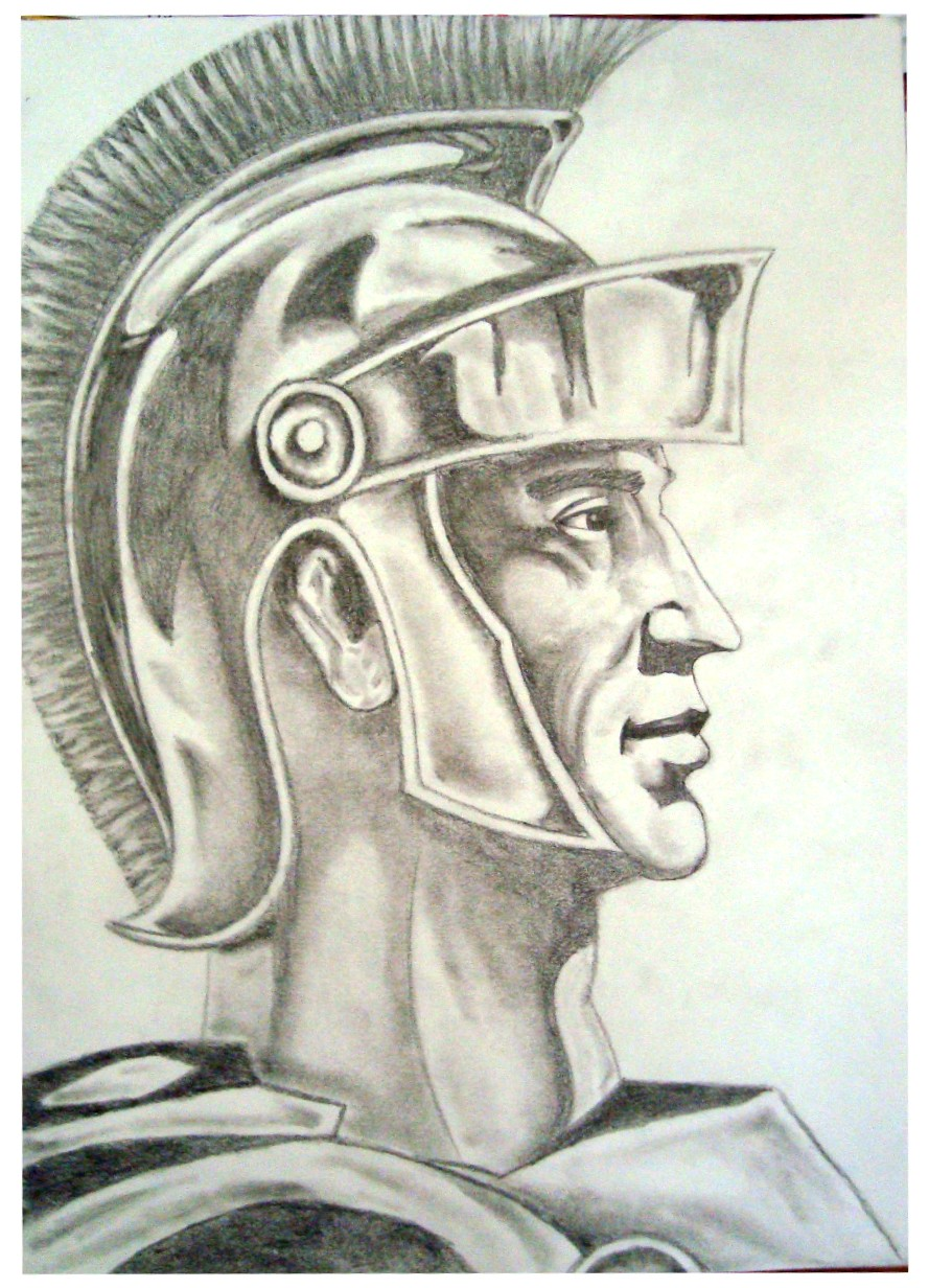 Roman Soldier by ArtsCaptive on deviantART