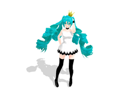 MonteKIO World Is Mine Miku DOWNLOAD by Cosmindart