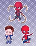 Chibi Spiders by YuiHoshi