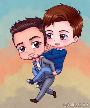 Tony and Peter Chibis