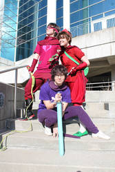 Saviors of the Gaming World by whatcosplay