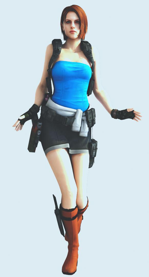 Jill HD render