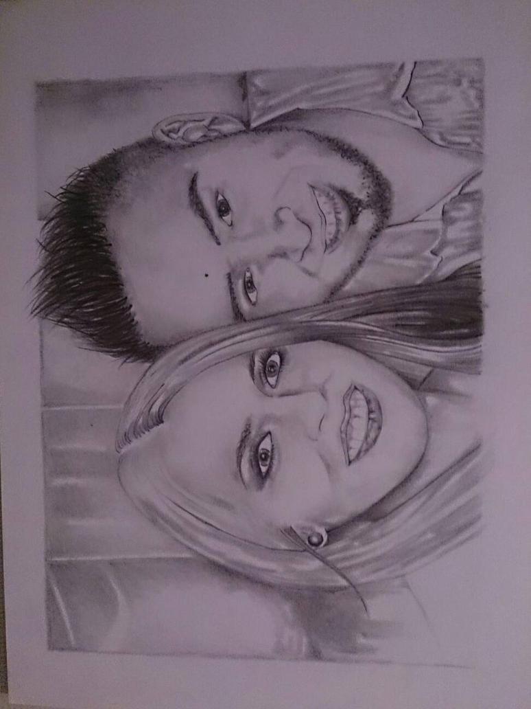enseandome a dibujar rostros..... by m4rg4ro