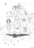 Black Magic + EVIL butterflies by Maitia