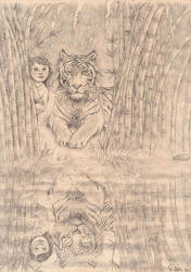 Tiger by Maitia