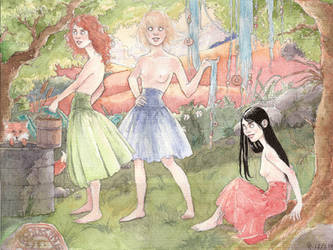 The norns by Maitia