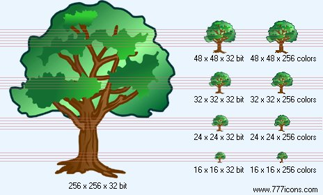 Tree Icon by phorago