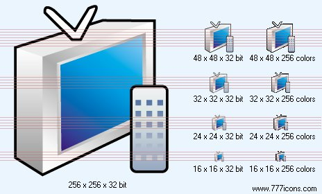 TV Icon by phorago