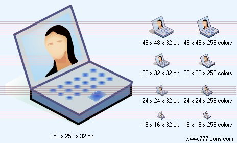 Visual communication Icon by phorago