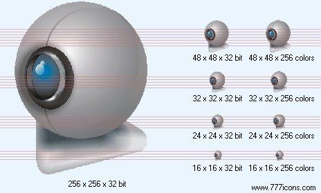 Web-camera Icon by phorago