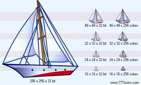 Yacht Icon by phorago