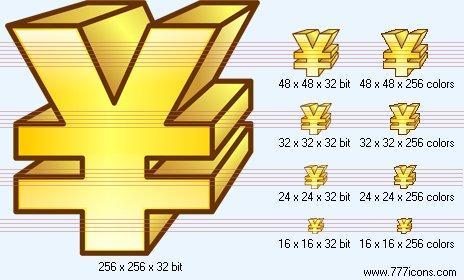 Yen Icon by phorago