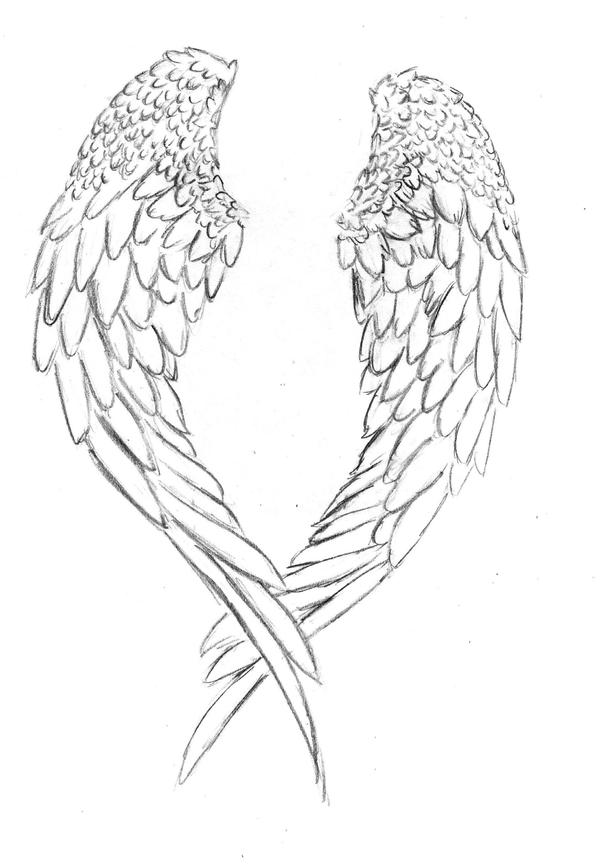 Angel Wings Tattoo Design Picture 1