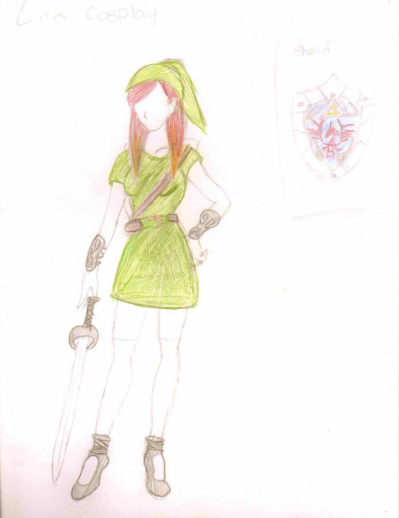 Link Cosplay Design by ninjacakez
