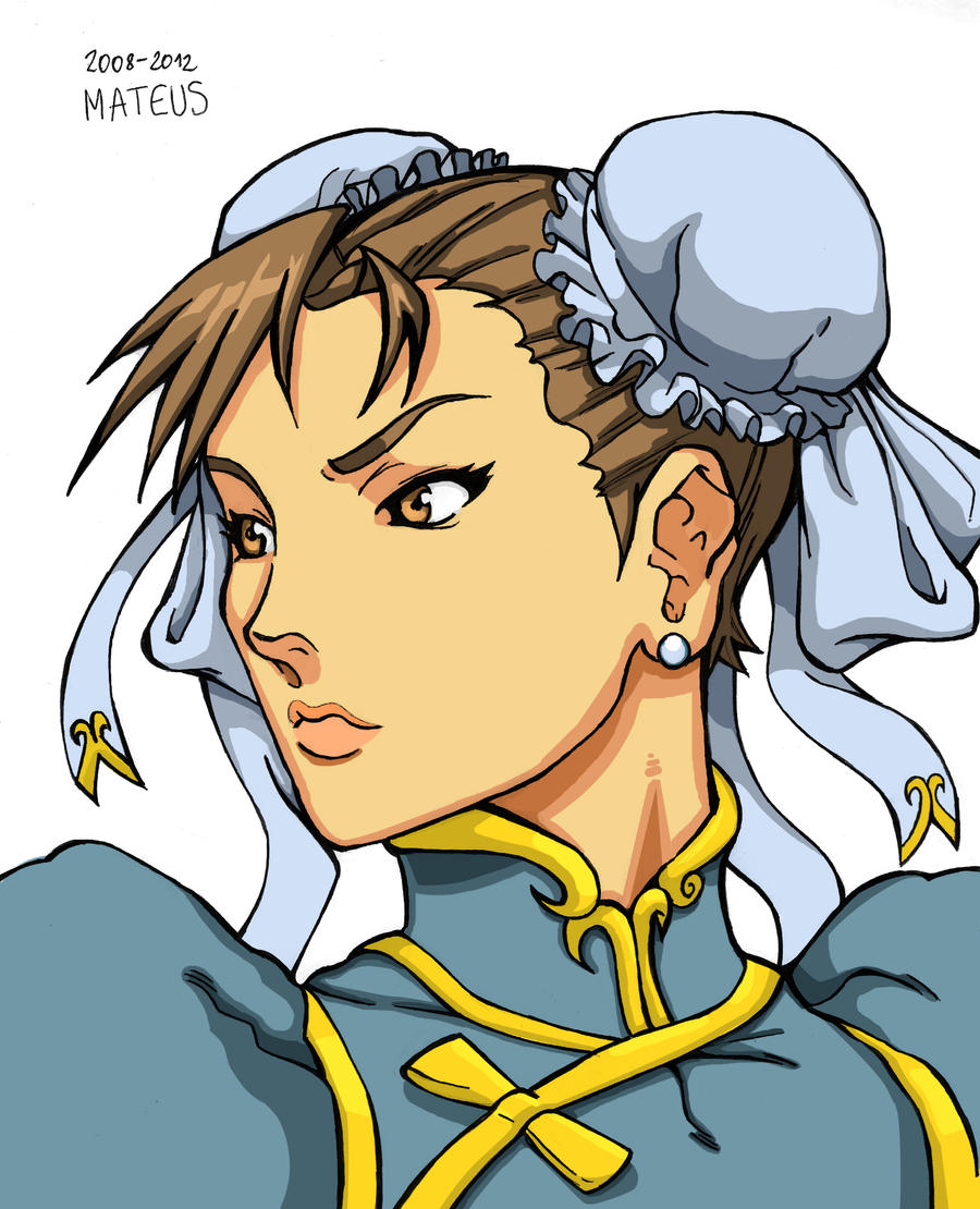 Chun-li [Colored] by MateusM
