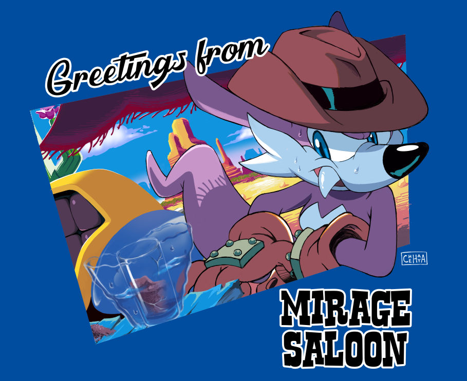 Greetings from Mirage Saloon