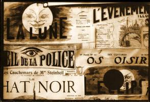 Ephemera Postcard: Le Eclipse by Aegean-Prince