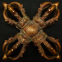 Dorje Dorji: Buddhist Cross by Aegean-Prince