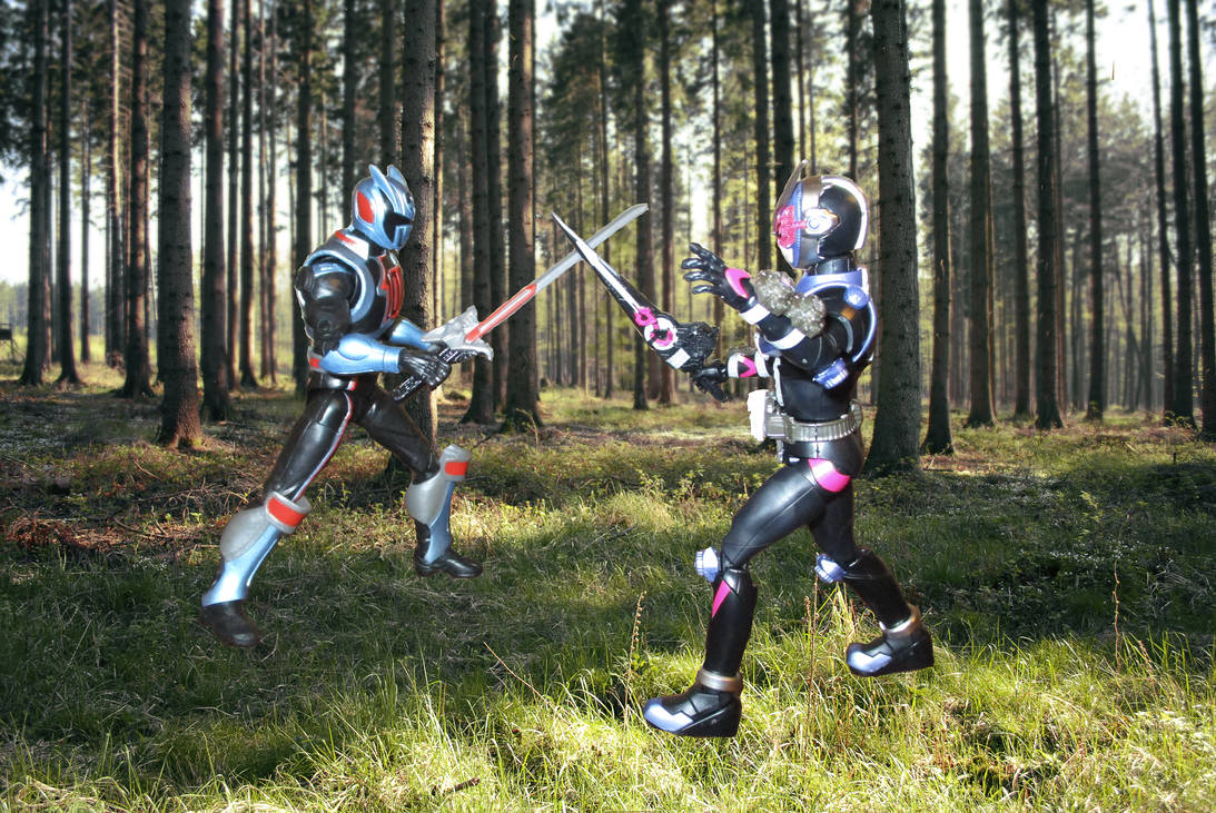 SPD Shadow Ranger VS Kamen Rider Zi-O