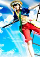 One Piece: Fly Through the Sky by JoLuffiroSauce