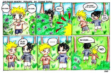 Childhood Memory of Naruto by JoLuffiroSauce