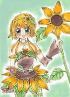 Dream-Sunflower by Yupinachi