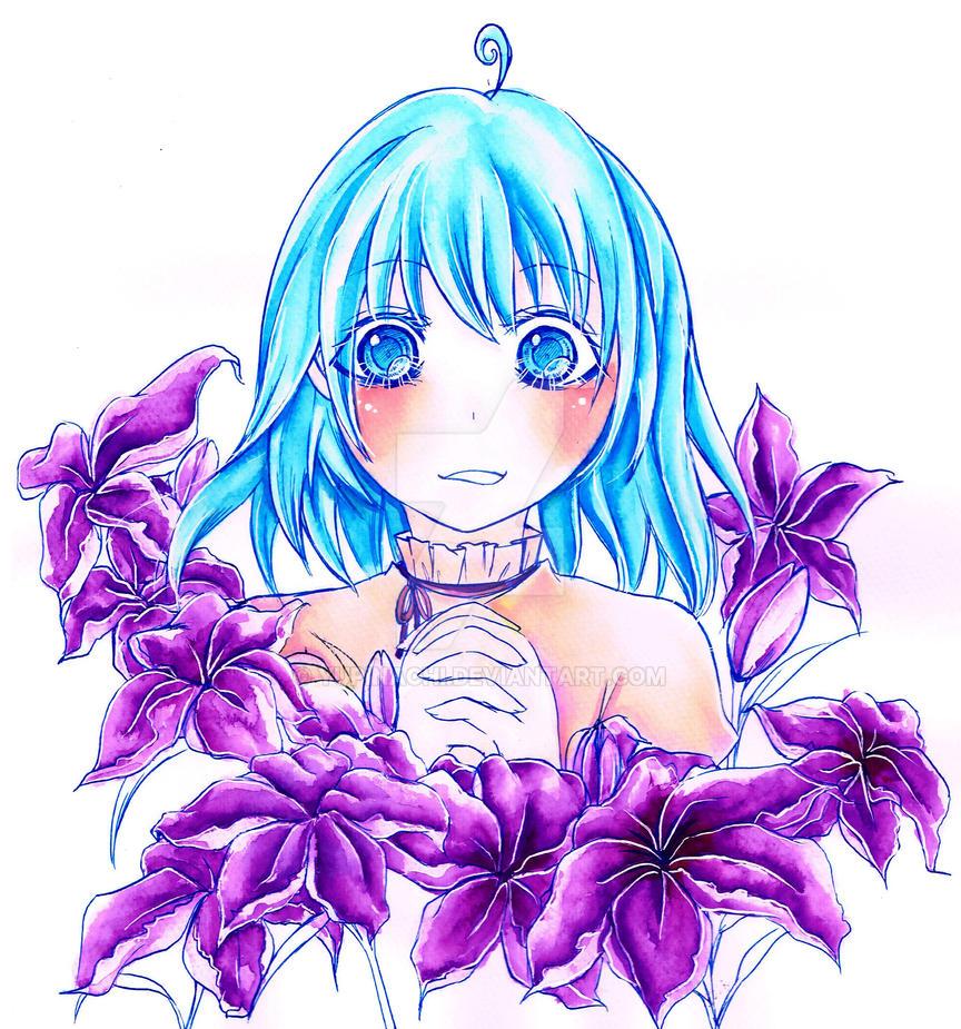 Nagisa Potrait by Yupinachi