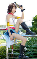 Final Fantasy X-2 : Yuna (vers. gunner) by kaguyaxhime
