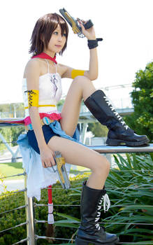 Final Fantasy X-2 : Yuna (vers. gunner)