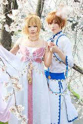 TRC : Syaoran x Sakura by kaguyaxhime