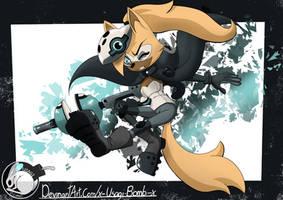 Whisper The Wolf by x-Usagi-Bomb-x