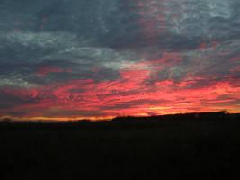 Bleeding Sky by KennBaker