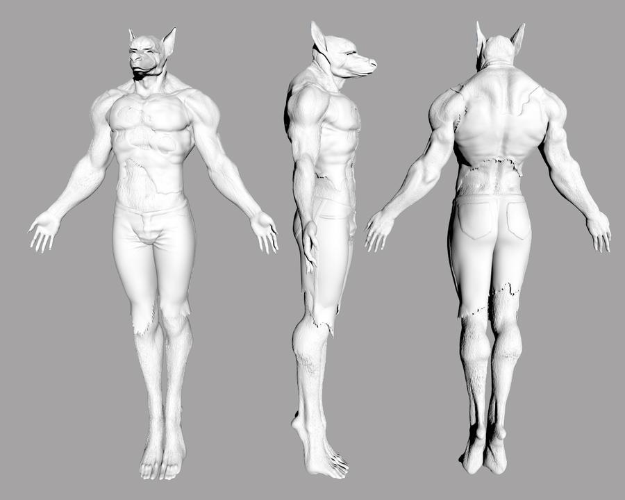 Werewolf by KennBaker
