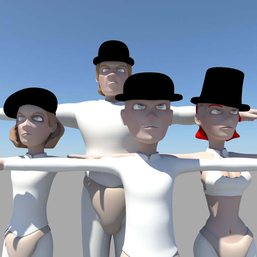 The Droogs by KennBaker