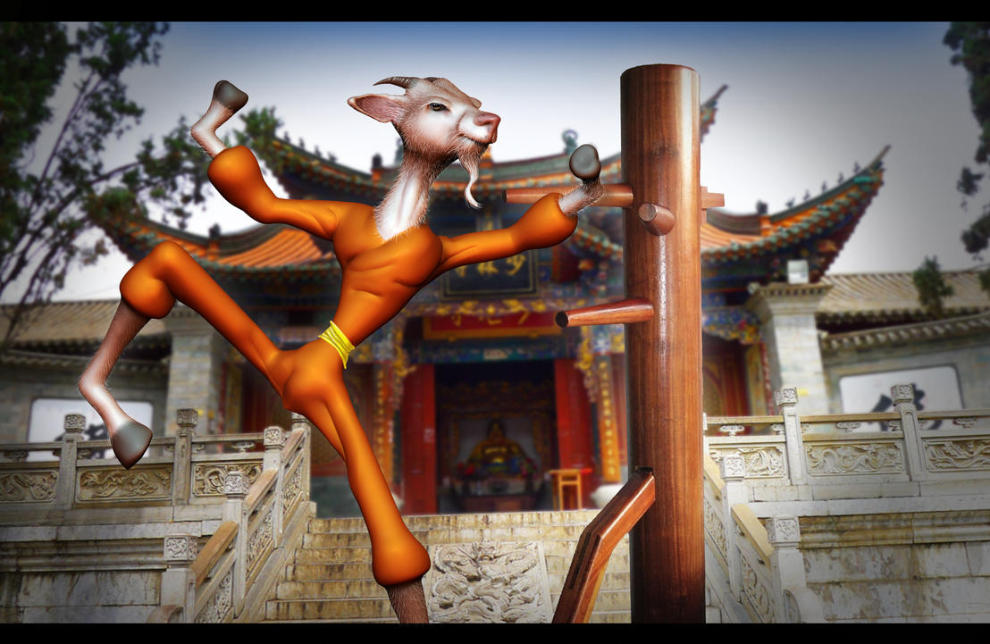 Shaolin Goat by KennBaker