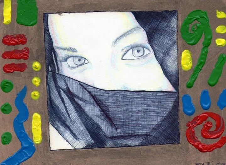 Colores lineas y ojos de vida. by Necromuerte