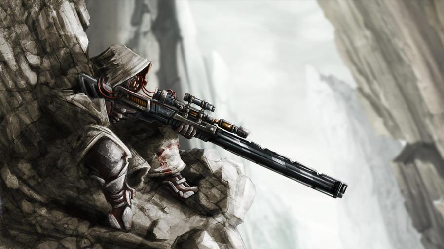 sniper by LopSkull