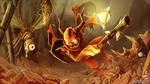 Demon's fight