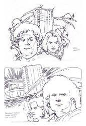 The Condemned sketch DWM