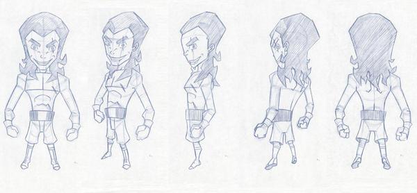 Sheridan College Character Design : Sheridan portfolio char by he bringer on deviantart