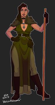 DnD Character Belladonna