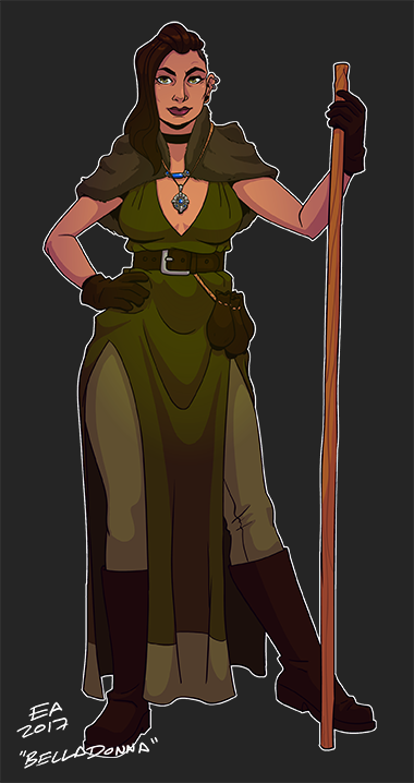 DnD Character Belladonna by Dadward
