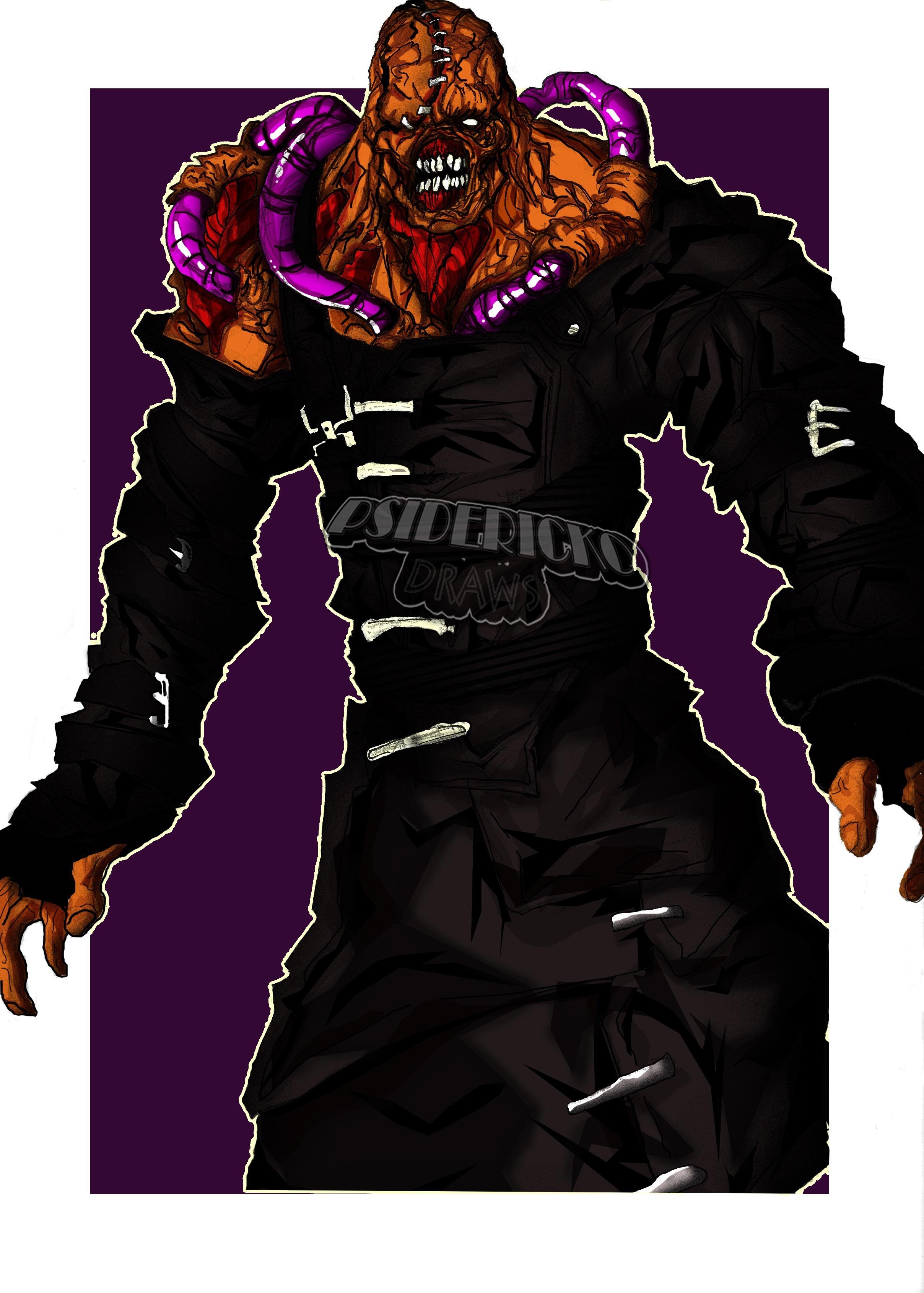 Nemesis Resident Evil 3 Nemesis By Psiderickodraws On Deviantart