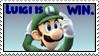 Luigi is WIN. by Nora-niichan